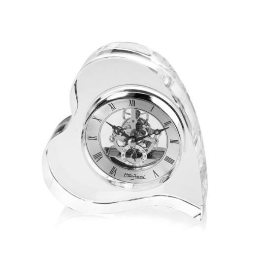 Bomboniera orologio da tavolo in cristallo sfaccettato ottaviani mobilia store - Ottaviani orologio da tavolo ...