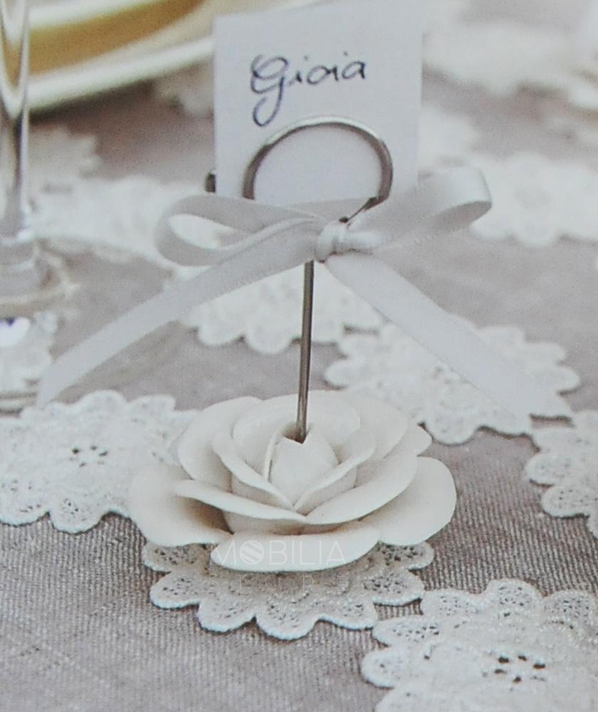 Segnaposto Matrimonio Country Chic : Segnaposto rosa in porcellana by cartai bassanesi cupido